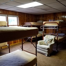 Bedroom 2 has 5 bunkbeds (sleeps 10)