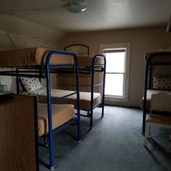Bedroom 6 is bunk room with 4 bunk beds (sleeps 8)