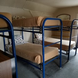Bedroom 6 has 4 bunk beds (sleeps 8)