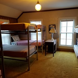 Bedroom 7 has 4 bunkbeds (sleeps 8)