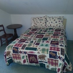 Bedroom 10 has a double bed