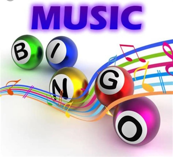 Find Your Groove, Play Music Bingo with Four Winds